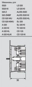 AS520KLKI Штепсельная розетка SCHUKO 16A 250V  с откидной крышкой и защитой от детей; слоновая кость