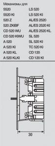 AS520KLWW Штепсельная розетка SCHUKO 16A 250V  с откидной крышкой; белая