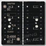 3092TSM KNX кнопочный модуль с интегрированным шинным сопряжением стандарт 2 группы