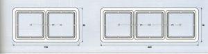 CD581W Рамка для вертикальной и горизонтальной установки, однократная, слоновая кость