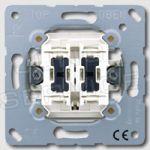 505KOU5 Выключатель 10AX 250V  контрольный сдвоенный с двумя лампочками