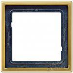 ME2981C Рамка 1-кратная, классическая латунь