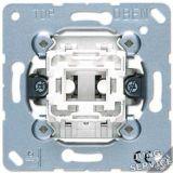 533-2U Кнопка двухполюсная с переключающими контактами