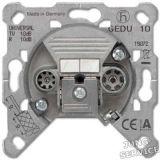 EDU04F Розетка оконечная для спутникового, эфирного и кабельного вещания